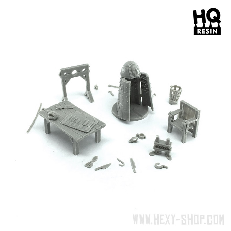 Torture Chamber Basing Kit von HQ-Resin