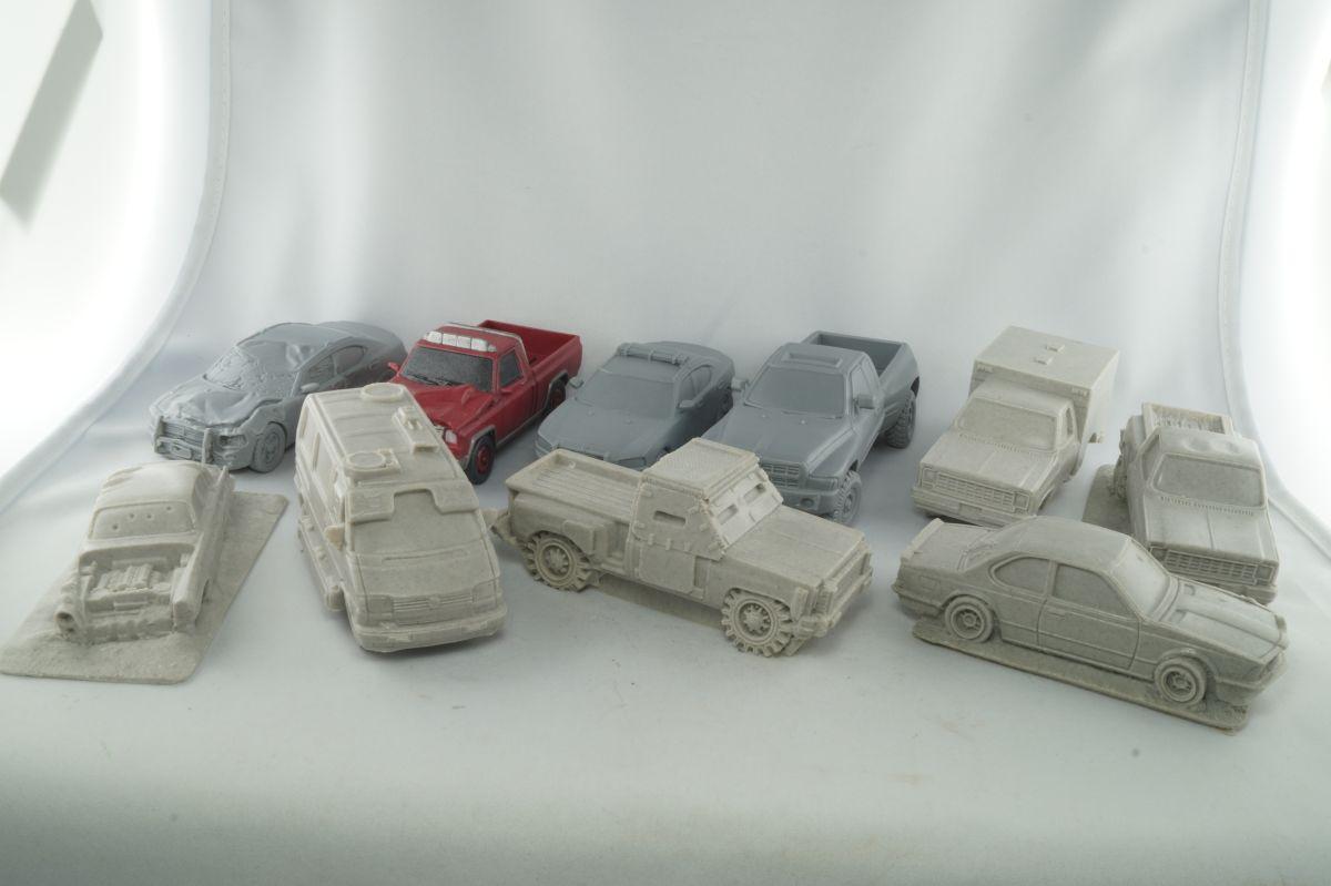 Alle Fahrzeuge auf einem Blick